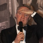 Rory Bremner.Spinal Trust. Racing Ledgends Event.