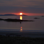 Sunset, Glassilaun, Connemara.