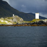 Navigation Markers for entrance to Killary Harbour, Connemara.